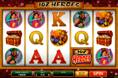 heroes microgaming slot machine