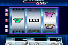 aftershock frenzy wms slot machine
