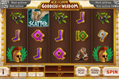 age of the gods goddess of wisdom playtech slot machine