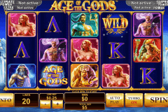 age of the gods playtech slot machine
