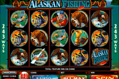 alaskan fishing microgaming slot machine