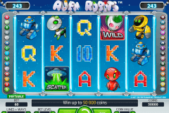 alien robots netent slot machine