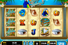 aloha island bally slot machine