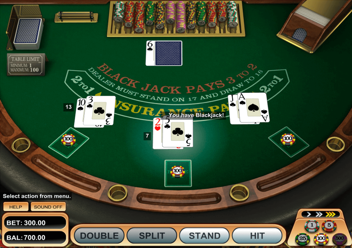 Free Games Online Blackjack