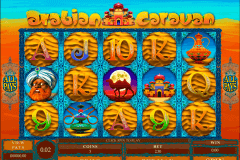arabian caravan microgaming slot machine