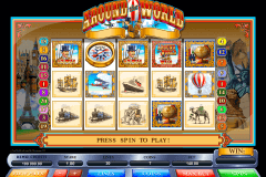 around the world microgaming slot machine