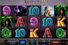 avalon ii microgaming slot machine