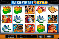 basketball star microgaming slot machine