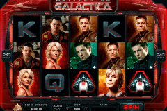 battlestar galactica microgaming slot machine