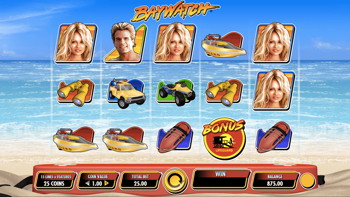 baywatch igt slot machine