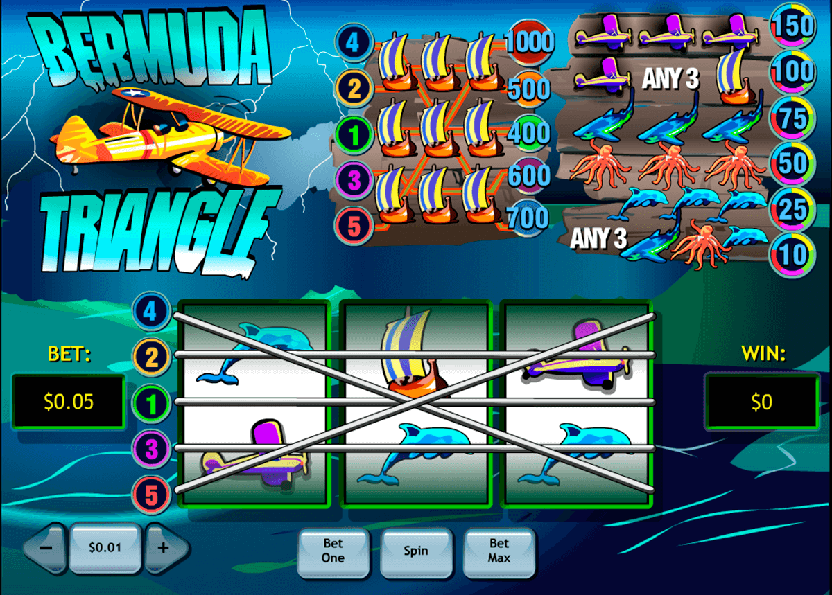 bermuda triangle playtech slot machine