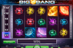 big bang netent slot machine