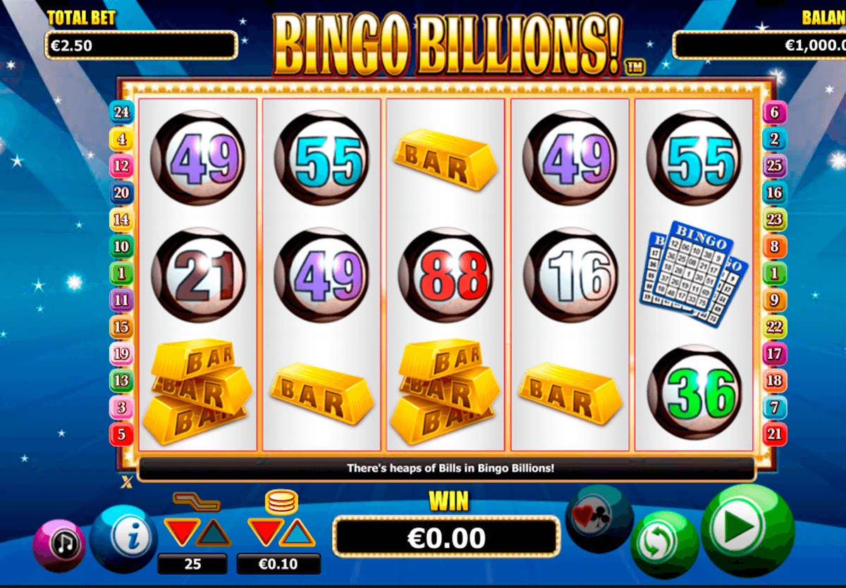 bingo billions netgen gaming slot machine