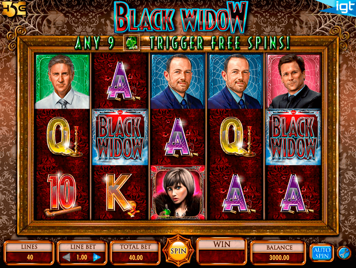 Black Widow Slot Machine Game