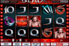 blade playtech slot machine
