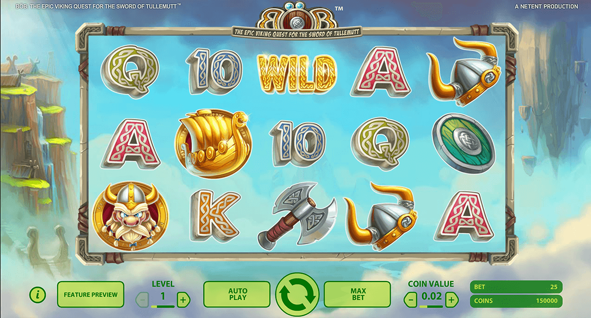 bob the epic viking quest netent slot machine