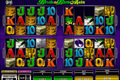 break da bank again megaspin microgaming slot machine