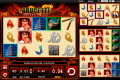 bruce lee dragons tale wms slot machine