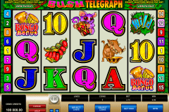 bush telegraph microgaming slot machine