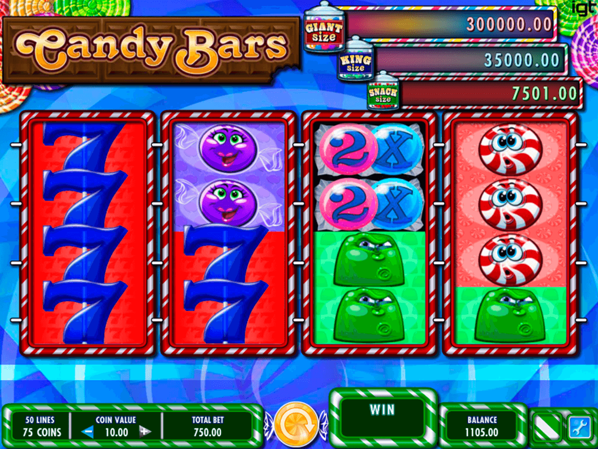 candy bars igt slot machine