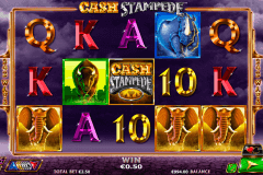 cash stampede netgen gaming slot machine