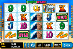cash wave bally slot machine