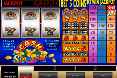 cashsplash microgaming slot machine
