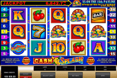 cashsplash video slot microgaming slot machine
