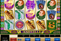 cashville microgaming slot machine