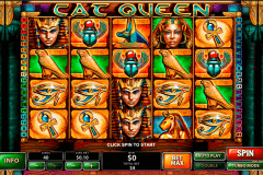cat queen playtech slot machine