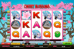 cherry blossoms netgen gaming slot machine