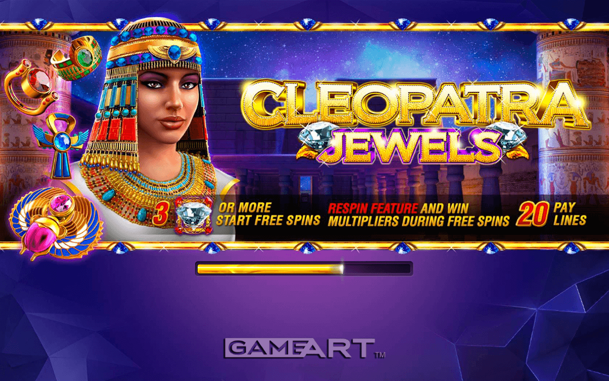 cleopatra gameart slot machine
