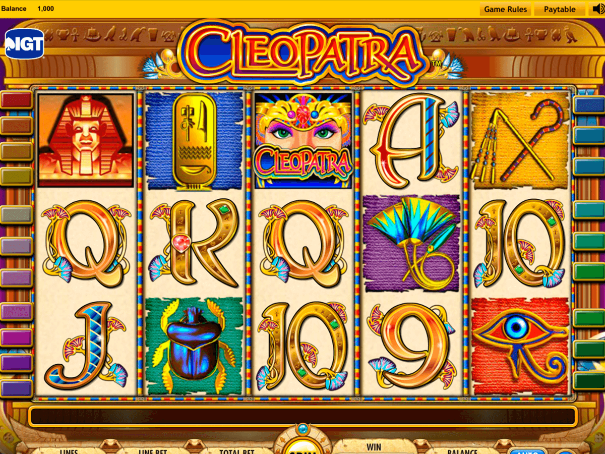 Slot Machine Gratis Cleopatra