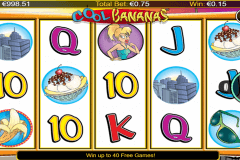 cool bananas netgen gaming slot machine