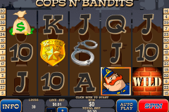 cops n bandits playtech slot machine