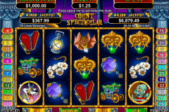count spectacular rtg slot machine