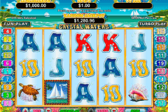 crystal waters rtg slot machine