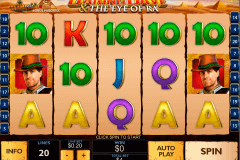 daring dave the eye of ra playtech slot machine