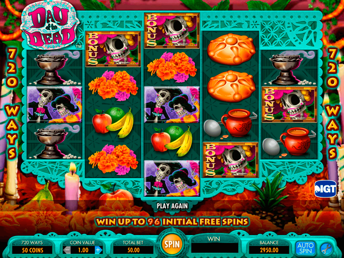 day of the dead igt slot machine