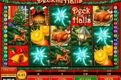 deck the halls microgaming slot machine