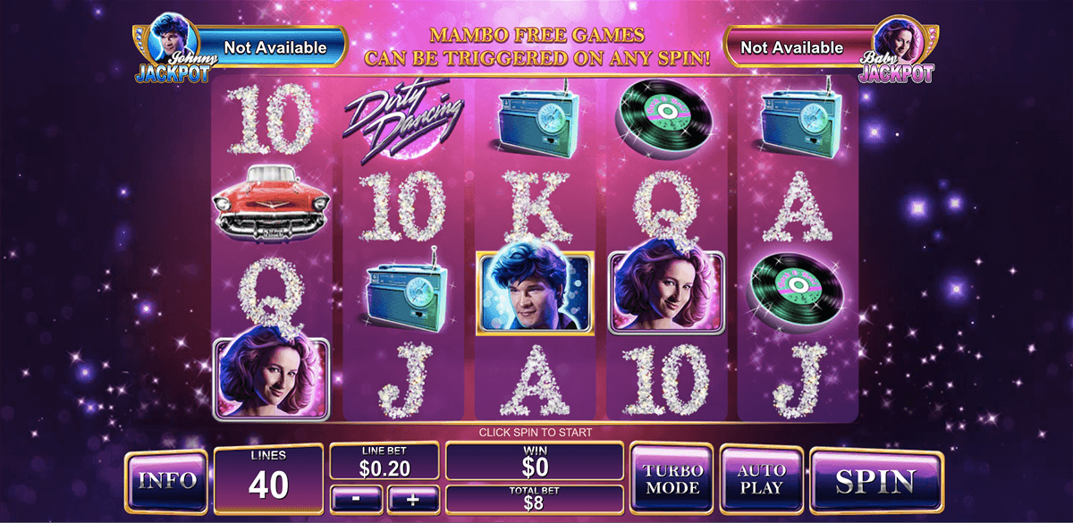 dirty dancing playtech slot machine