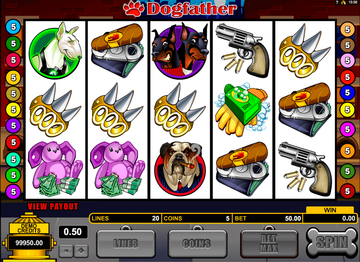 dogfather microgaming slot machine