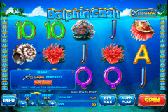 dolphin cash playtech slot machine