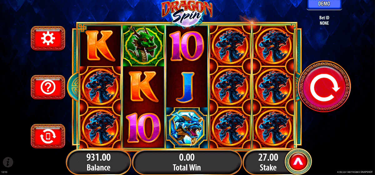 dragon spin bally slot machine