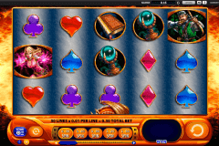 dragons inferno wms slot machine