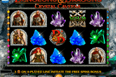 dungeons and dragons crystal caverns igt slot machine