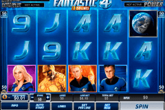 fantastic four  lines playtech slot machine