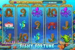 fishy fortune netent slot machine