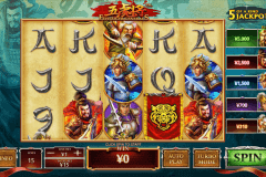 five tiger generals playtech slot machine