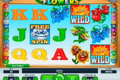 flowers netent slot machine